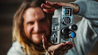 How to FAKE THE SUPER 8MM Film look with digital cameras!