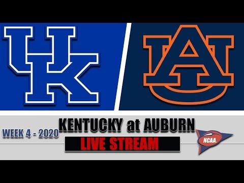 Kentucky Wildcats vs Auburn Tigers Live | 2020 College Football Week 4 | 9/26/2020