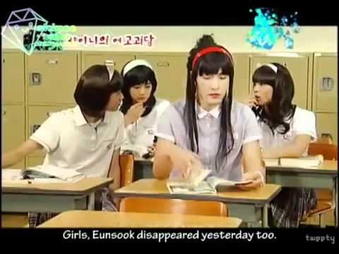 Shinee girls in a mini drama [ENG SUB].flv