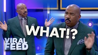 STEVE HARVEY CAN'T BELIEVE THIS | VIRAL FEED