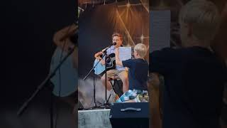 13 years old~Hot summer nights competition...Wagon Wheel