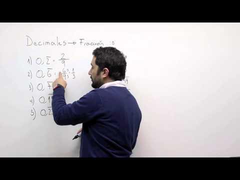 Decimales a fracción 2