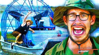 The Try Guys Race Swamp Boats • Dirty Tour: Part 2