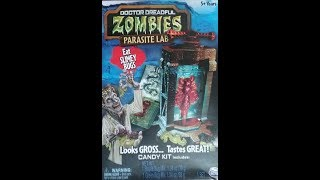 What's Inside -- Doctor Dreadful Zombies Parasite Lab (Spin Master)