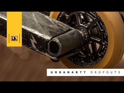 Video URBANARTT Deck SPRAWL MAX PETERS 5.5 x 21 Raw Stone