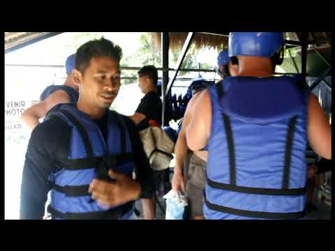 video Bali Adventure Tour with Quad Bikes and Rafting