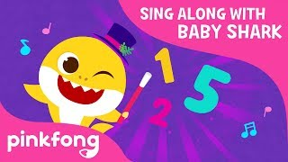 baby shark 1 to 5 sing along with baby shark pinkfong songs for children