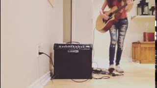 One Dance - Drake feat. Kyla & Wizkid loop style guitar (Cover)