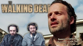 """The Walking Dead Season 3 Episode 16 Reaction """"Welcome to the Tombs"""""""