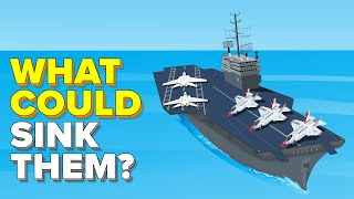 Incredible Reasons Why US Navy Aircraft Carriers are Almost Impossible to Sink