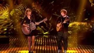 Taylor Swift & Ed Sheeran - Everything Has Changed live on BGT (HD)