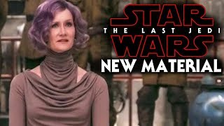 Star Wars The Last Jedi NEW Material Revealed & More!