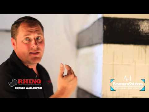 A-1 Basement Solutions Corner Repair