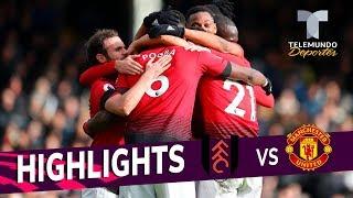 Fulham vs. Manchester United: 0-3 Goals & Highlights   Premier League   Telemundo Deportes