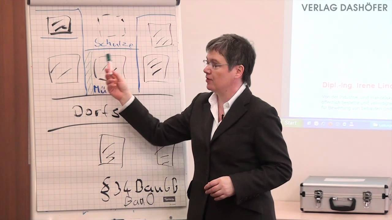 Video zum Seminar Praxisgerechte Bewertung von Geh-, Fahr- und Leitungsrechten
