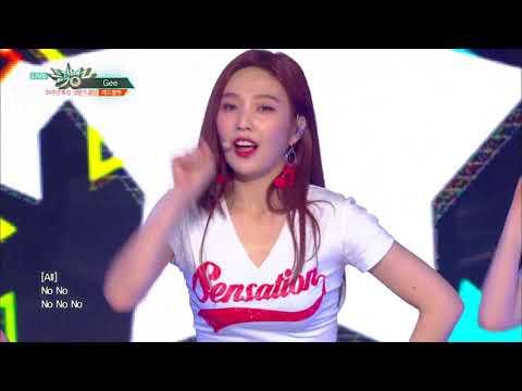 뮤직뱅크 Music Bank - Gee(원곡:소녀시대) - 레드벨벳(Red Velvet).20180629
