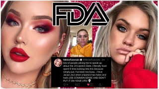 Jaclyn Hill REPORTED To The FDA + NikkieTutorials & Samantha Ravndahl SPEAK OUT!!