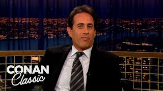 Jerry Seinfeld: Everything In New York Is Irritating | Late Night with Conan O'Brien