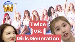 Which TWICE Member Resembles the GIRLS GENERATION  Member?