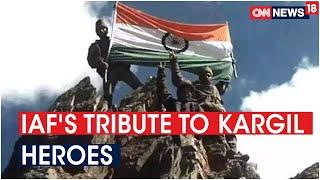 Kargil Vijay Diwas: Indian Air Force releases tribute vide..