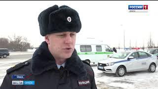 В Омске сегодня прошёл масштабный рейд судебных приставов и ГИБДД