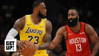 LeBron James took over for the Lakers against the Rockets | Get Up!