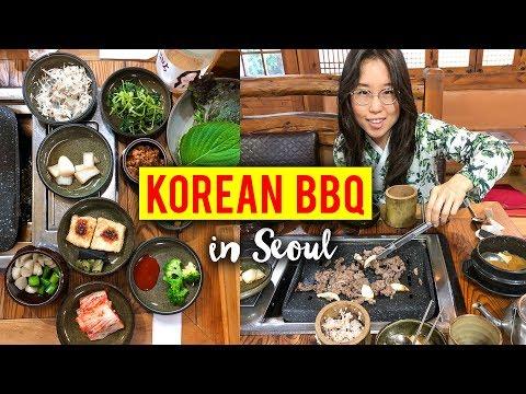 KOREAN BBQ in Seoul, South Korea