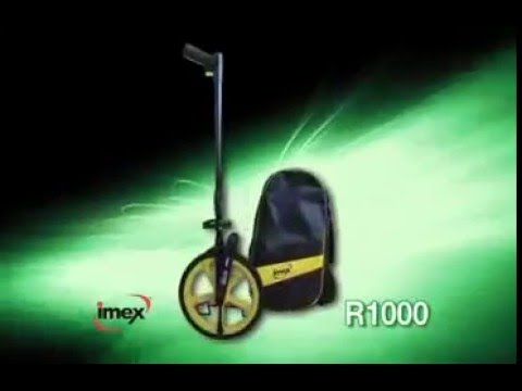 Imex Measuring Equipment R1000 Measuring Wheel With Counter