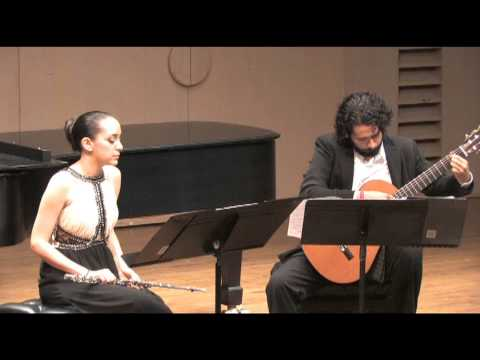 "Astor Piazzolla's ""Histoire du Tango for flute and guitar."" California State University, Northridge. April 6th, 2013."