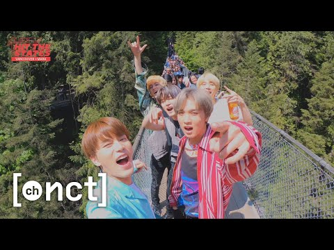 MARK X VANCOUVER : Capilano Suspension Bridge!🚶‍♂️(Feat. NCT 127 Bros) | NCT 127 HIT THE STATES