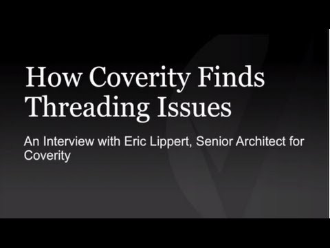 How Coverity Finds Threading Issues