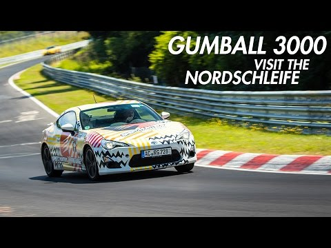 Gumball 3000 at the Nordschleife