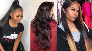 Formal Hairstyles For Prom ✨   Prom Hairstyle Ideas 💗
