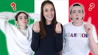 SPEAKING ONLY ITALIAN FOR 24 HOURS!