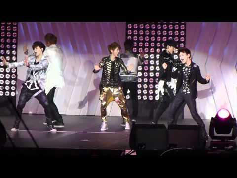 [fancam] 120520 SMTown LA EXO-M-K.Rehearsal.Mama
