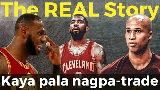 The REAL Truth Why Kyrie Irving Wanted to be Traded: Ibinunyag ni Richard Jefferson