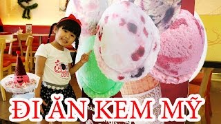 /be bun di an kem nhieu mau eating colorful ice cream