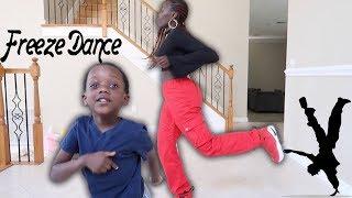 Freeze Dance Challenge Vs Super Mom