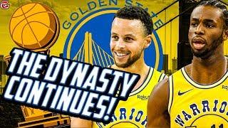 3 PEAT POSSIBLE!? THE DYNASTY CONTINUES! WARRIORS REBUILD NBA 2K20!