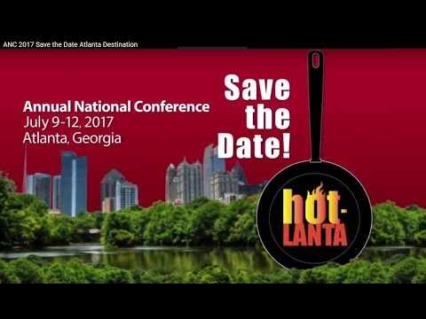ANC 2017 Save the Date  Atlanta Destination