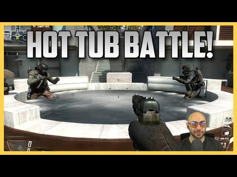 Hot Tub Battle Royale! (Call of Duty Black Ops 2)