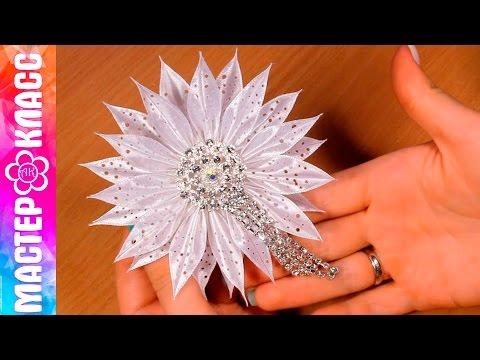 крупный цветок своими руками