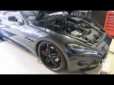 Maserati Granturismo - Stock Dyno Pull