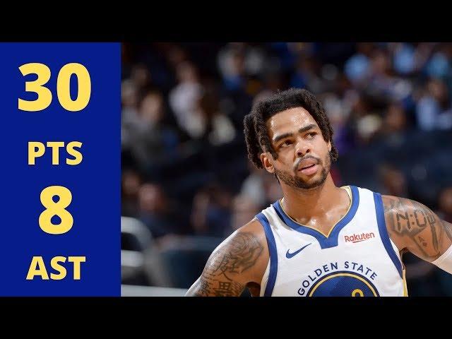 NBA/羅素砍30分無用 柯瑞首場缺戰勇士再度慘敗