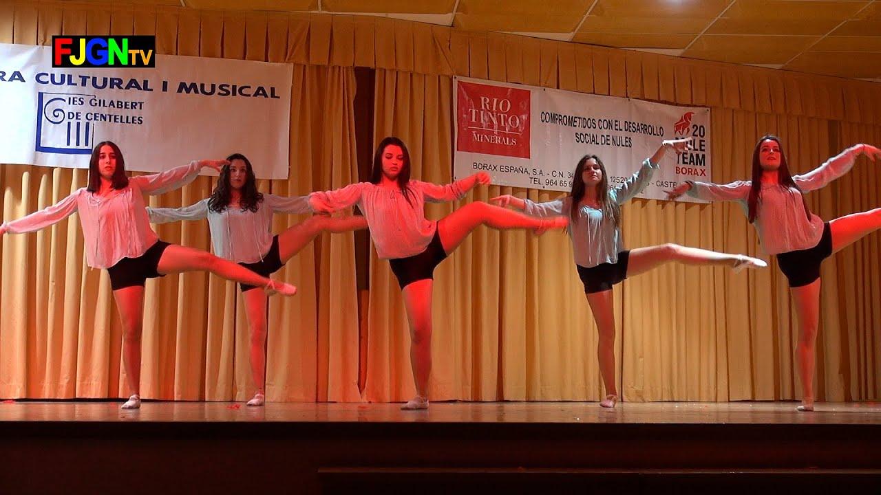 09. Exhibicion de baile - XV Mostra musical i cultural IES Gilabert de Centelles 2015 Nules