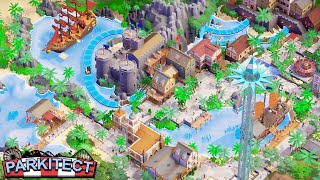 ALL NEW - Multiplayer THEME PARK BUILDING Game Mode for Parkitect | Amusement Park Tycoon Builder