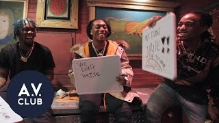 Can Migos agree-gos in our rap-centric version of Newlywed Game