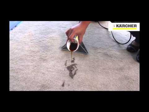Extratora de carpet e estofados1400W SE 4001 Karcher - 127V - Vídeo explicativo