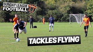 Sunday League Football - TACKLES FLYING