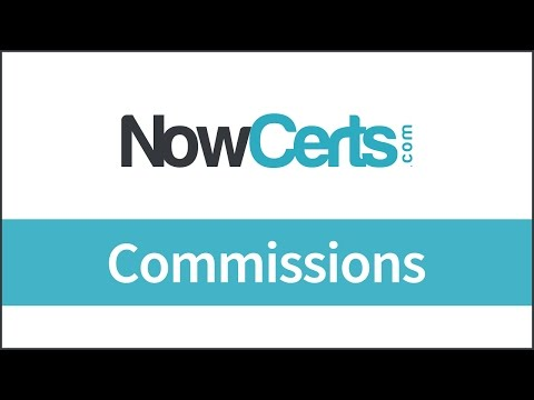 Insurance Agency Management System - Commissions